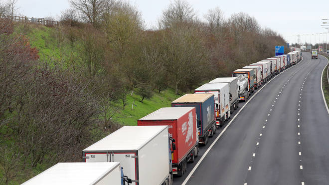 There are fears freight issues will get worse in Kent after the Brexit transition period expires