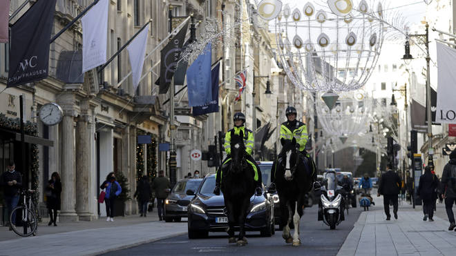 """Police have urged people to """"act sensibly"""""""