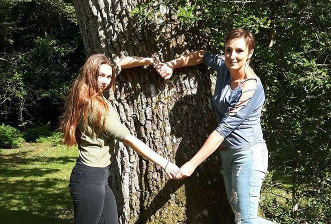 Aneta Zdun (right), 40, and daughter, Nikoleta (left), 18, were stabbed multiple times at their home in Salisbury