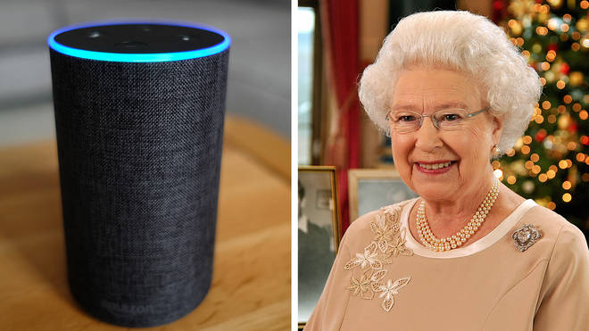 "From 3pm on Christmas Day, people will be able to say ""Alexa, play the Queen's Christmas Day message""."