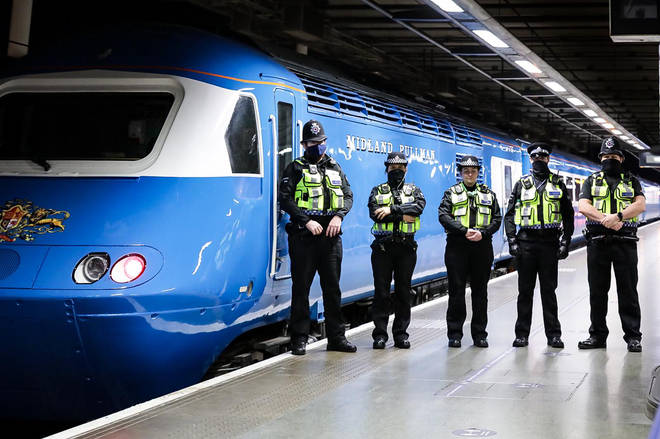 British Transport Police will be out in greater numbers in London.