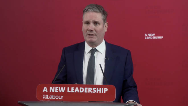 Sir Keir Starmer has issued a scathing response to Boris Johnson's handling of the festive season