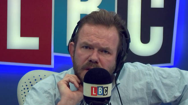 James O'Brien found the Daily Mail's front page chilling