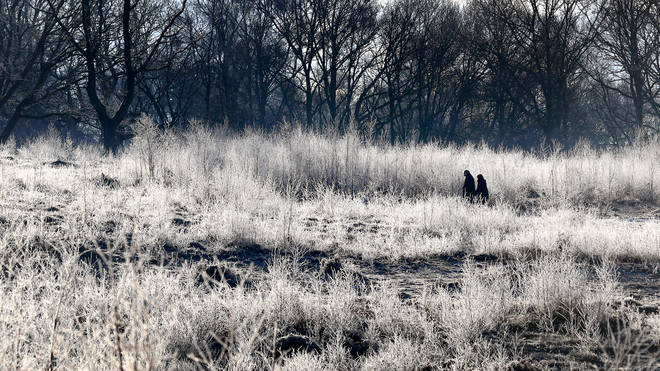 The UK is more likely to wake up to frosty conditions on Christmas Day