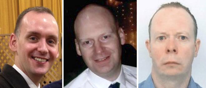 James Furlong, 36, David Wails, 49, and Joseph Ritchie-Bennett, 39, were fatally stabbed