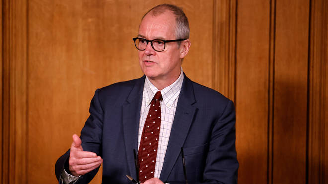Patrick Vallance has warned that tougher coronavirus measures are likely in the New Year