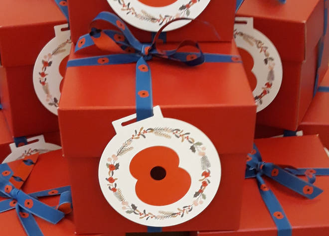 The RBL has sent 99 puddings to families in the UK