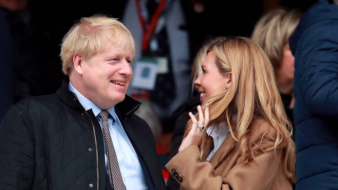 Boris Johnson and Carrie Symonds announced their engagement in February