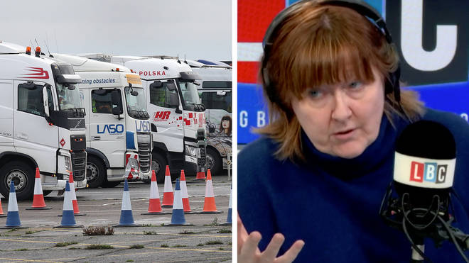 Tory MP: Facilities to help lorry drivers at Manston Airport are 'slightly sketchy'