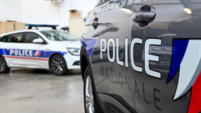 French police were attending the scene