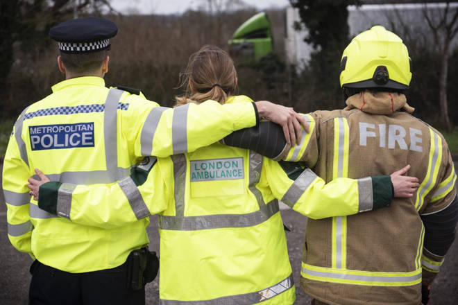 This paramedic had a heartfelt plea