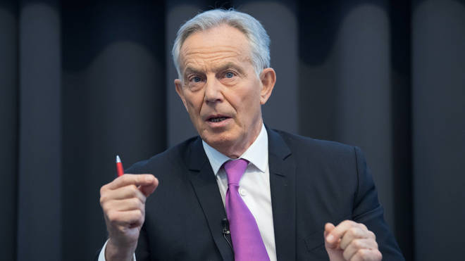 Tony Blair urged the UK Government to accelerate its vaccination programme