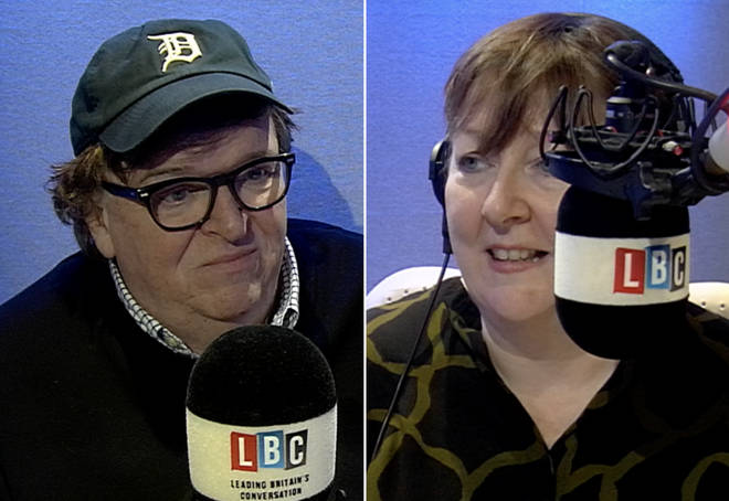 Michael Moore was interviewed by Shelagh Fogarty