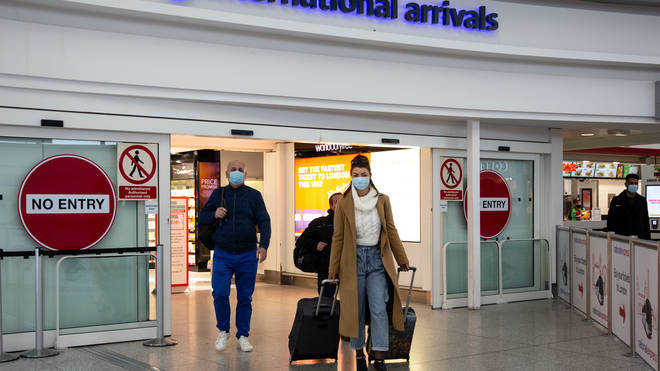 People who have been to South Africa in the last two weeks have been ordered to quarantine