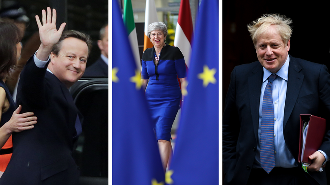 The UK has had three different prime ministers since the Brexit vote.