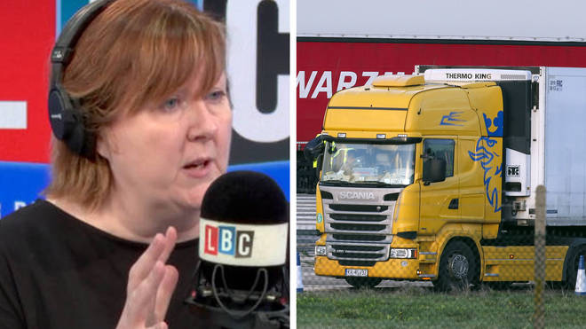 'We were heroes a couple of months back. That didn't last long,' says HGV driver