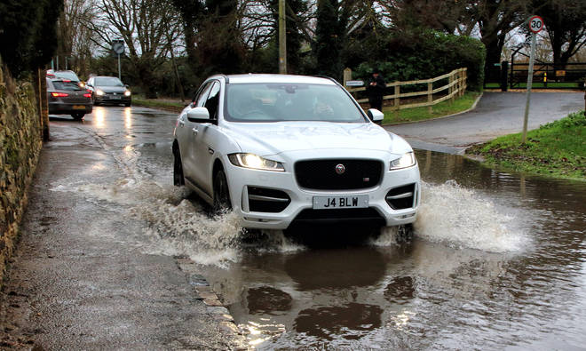 The Environment Agency have warned people not to drive through flood water.