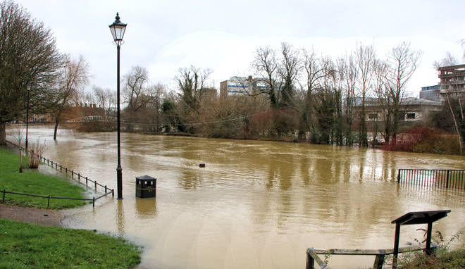 Bedfordshire saw the greatest flooding, after the River Ouse burst its banks.