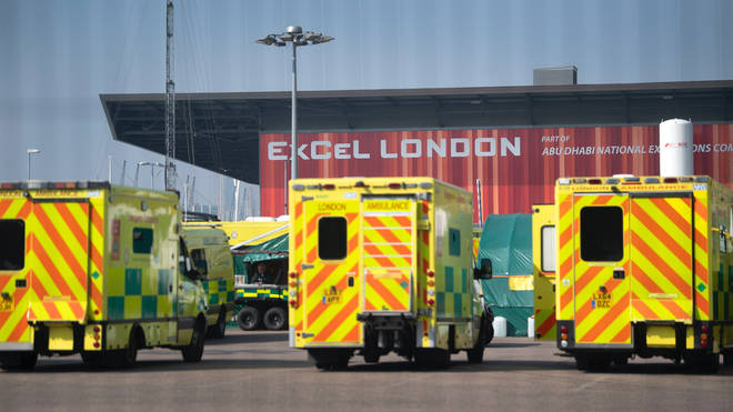 The Nightingale Hospital in London remains on standby