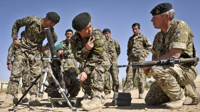 Afghans who are at risk after helping Britain's Armed Forces will be offered relocation to the UK