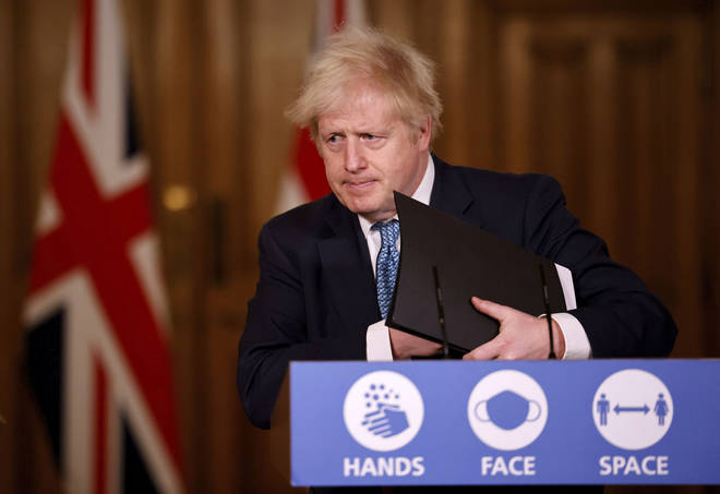 Boris Johnson will lead Wednesday's Downing Street press conference.