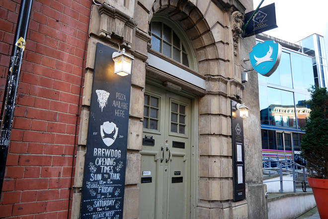 A closed Brewdog pub