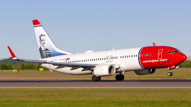 Norway has banned flights from the UK since 21 December