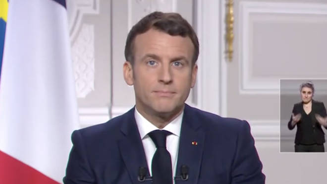 Mr Macron made the comments during his New Year address from the Élysée Palace