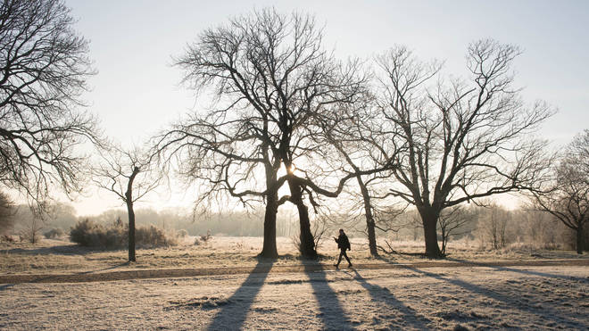 """A """"harsh frost"""" is set to descend on England as more warnings have been issued for snow and ice"""
