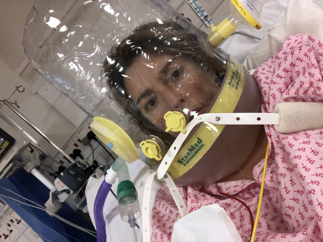 """Anabel Sharma described the Covid-19 treatment as """"really horrific""""."""