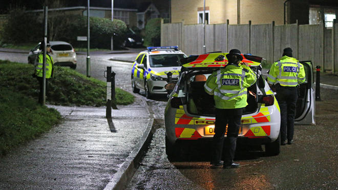 Five children have been arrested on suspicion of conspiracy to commit murder