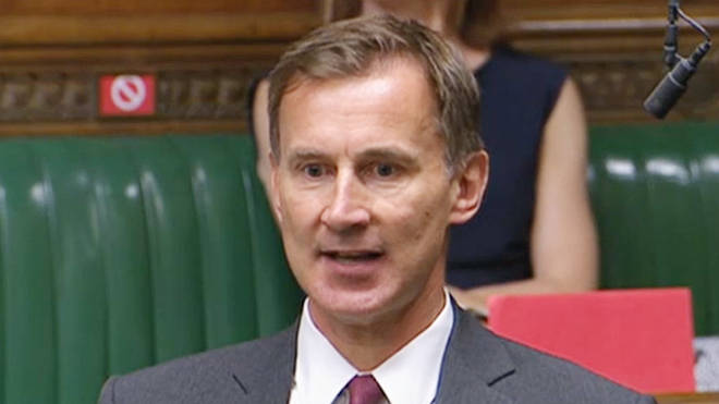 Jeremy Hunt has demanded the immediate closure or schools and a ban on household mixing