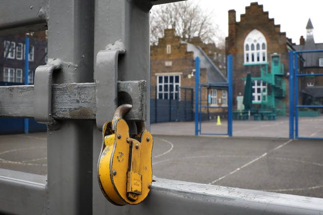 Primary schools in London had already been ordered to stay closed at the start of the new term