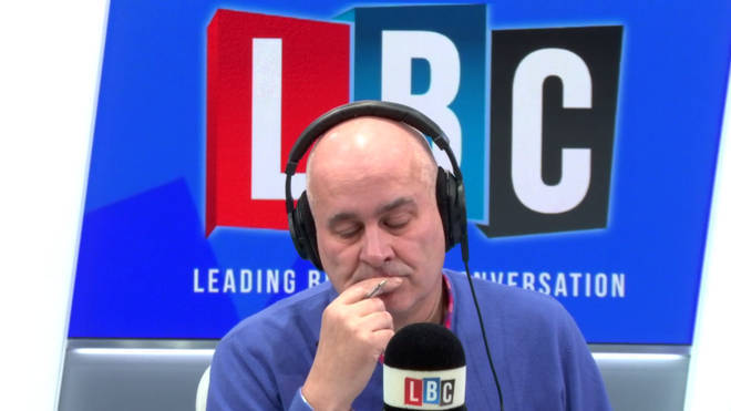 The caller was speaking to Iain Dale