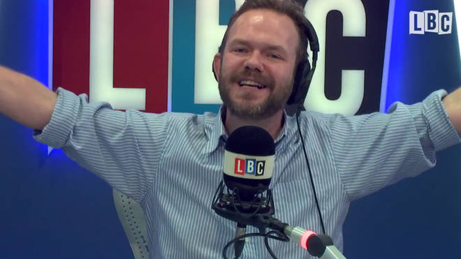 James O'Brien's reaction when he was told he's going to hell