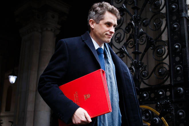 File photo: Secretary of State for Education Gavin Williamson