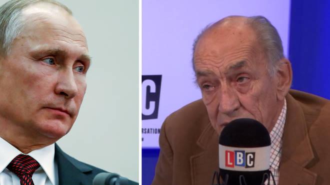 Vladimir Putin, Sir Mike Jackson