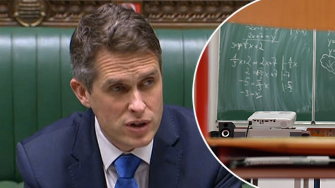 Gavin Williamson outlined how students will be graded in 2021