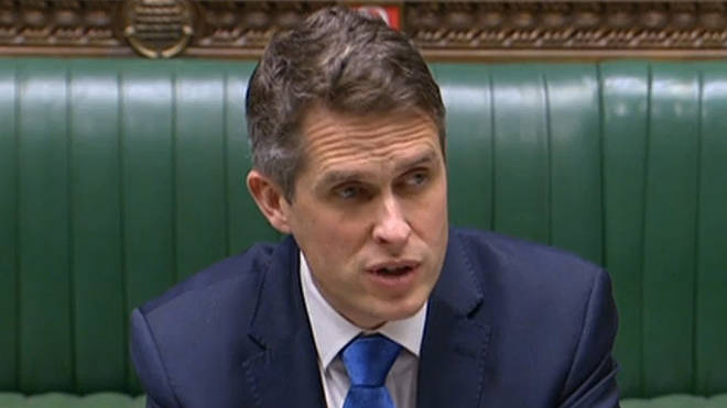 Gavin Williamson confirmed exams in 2021 would be cancelled after school closures