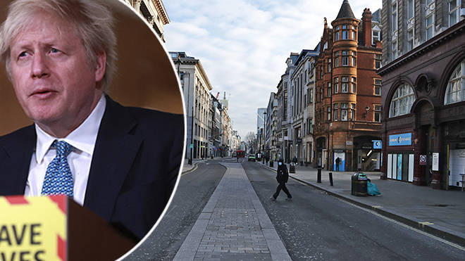 Boris Johnson confirmed a third national lockdown at the start of January 2021
