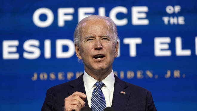 During remarks in Wilmington, Delaware, on Thursday, Mr Biden said people should not call the hundreds of Trump supporters who broke into the Capitol protesters.