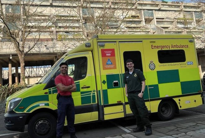 London firefighters have been drafted in to drive ambulances in the capital