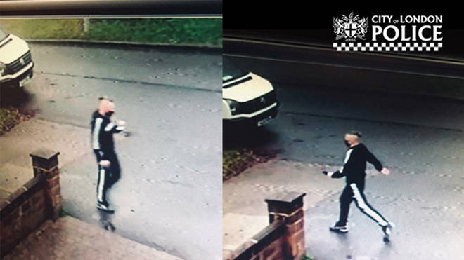 Police issued CCTV of a man they want to trace