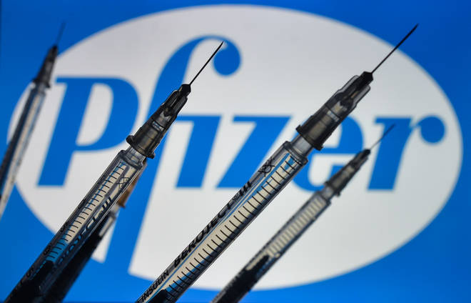 The Pfizer vaccine appears to be effective against the UK's Covid variant, the study suggests