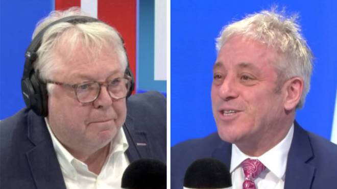 John Bercow gave Nick his damning take on Brexit