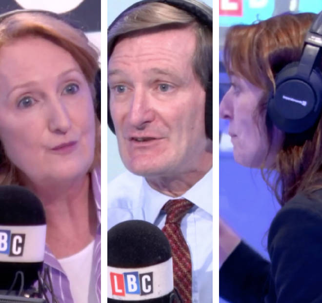 Suzanne Evans sparked a big Brexit row on LBC during Cross Question