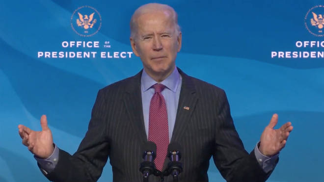 Joe Biden called Donald Trump 'the most incompetent president in history'