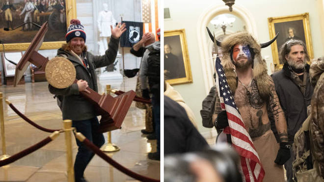 Alleged participants in the Capitol riot have been charged