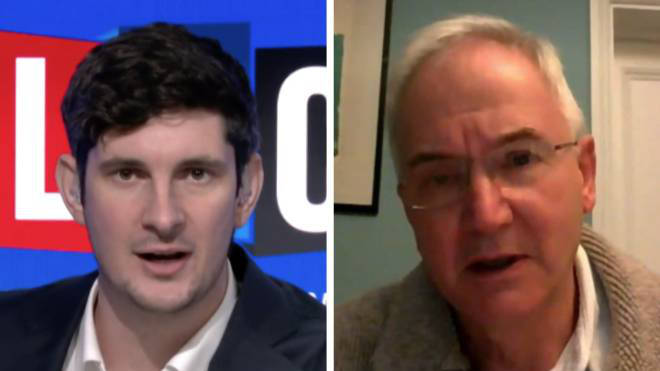 Professor Peter Openshaw gave LBC his take on the government not following the science