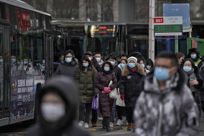 Chinese health authorities say scores more people have tested positive for coronavirus in Hebei province